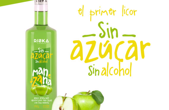 Licor de manzana sin azucar